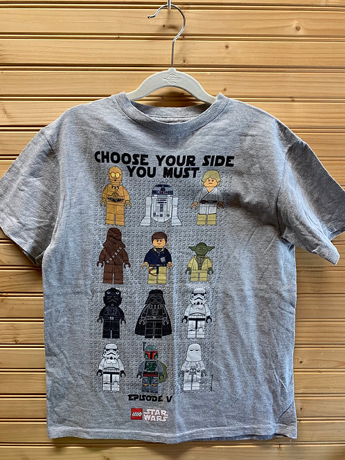 Size 10/12 LEGO STAR WARS Choose Your Side Shirt