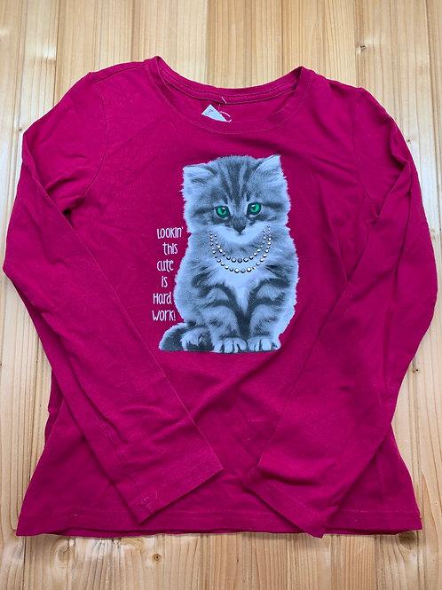 Size 10/12 Kitten Shirt