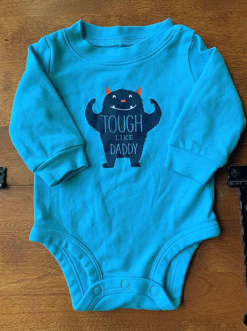 Size 3m CARTER'S Tough Like Daddy Onesie