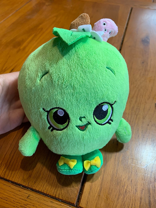 SHOPKINS Green Apple Plush
