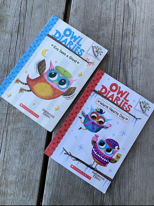 2 OWL DIARIES