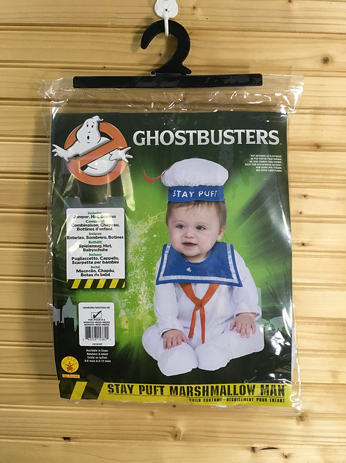 Size 0-6m RUBIES Ghostbusters Stay Puft Costume
