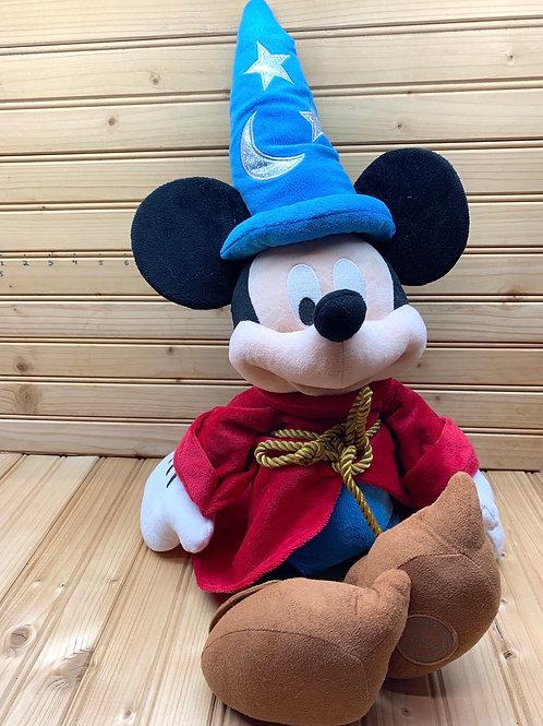 DISNEY Plush Sorcerer Mickey Mouse
