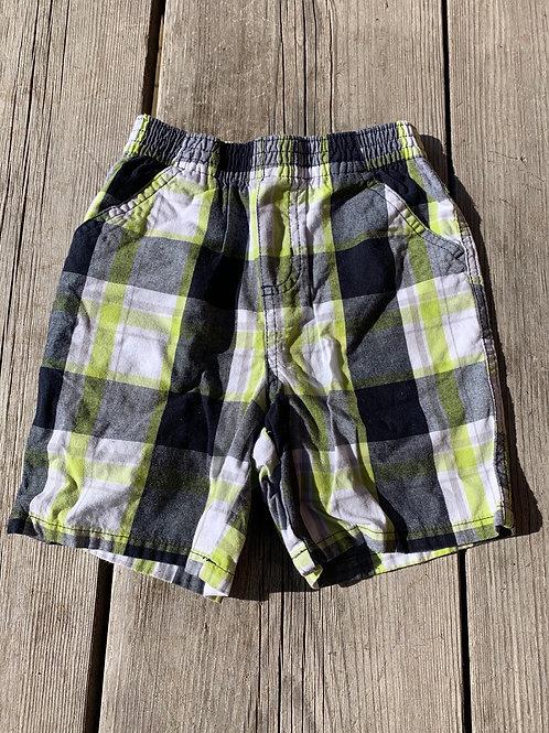 Size 24m Plaid Shorts