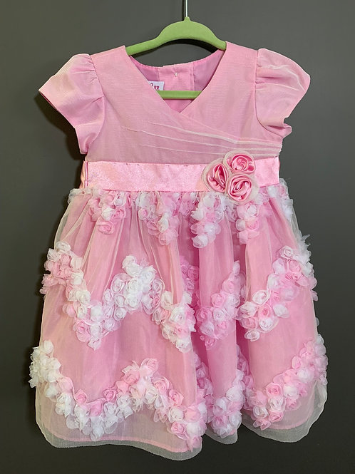 Size 12m JESSICA ANN Pink Tulle Dress