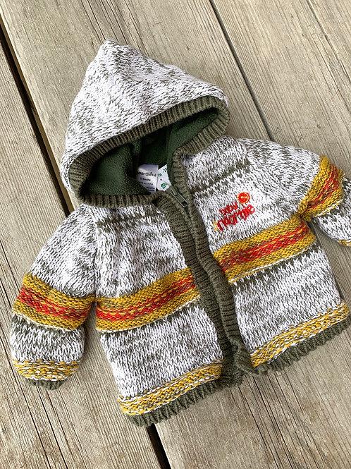 Size 0-3m NAARTJIE KIDS Knit Hoodie