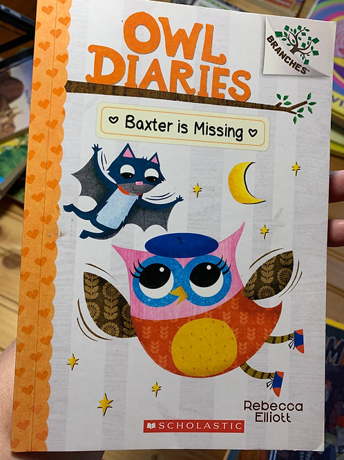 OWL DIARIES: BAXTER IS MISSING