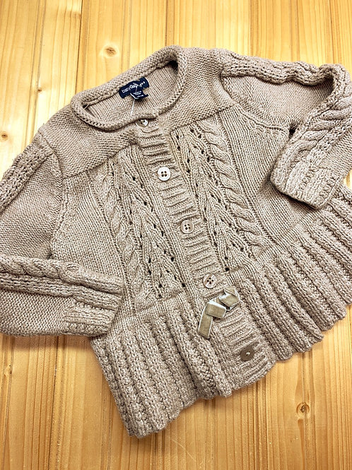 Size 12m BABY GAP Tan Knit Sweater