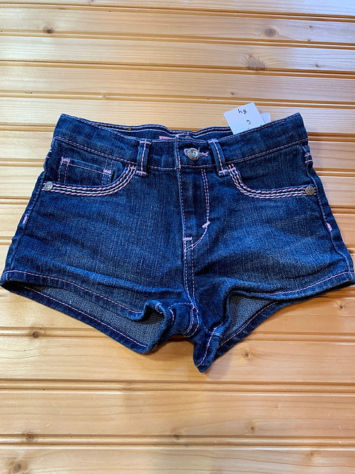 Size 6 LEVI'S Shorty Jean Short, Used