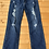 Size 12 Girls Distressed Cropped Jeans