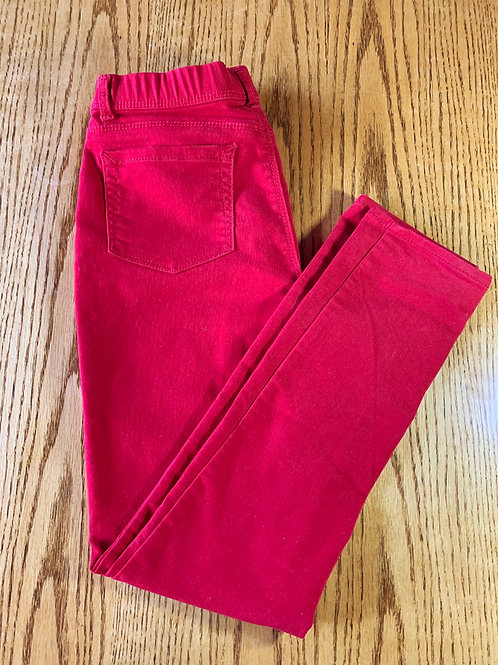 Size 14/16 Girls Red Jegging