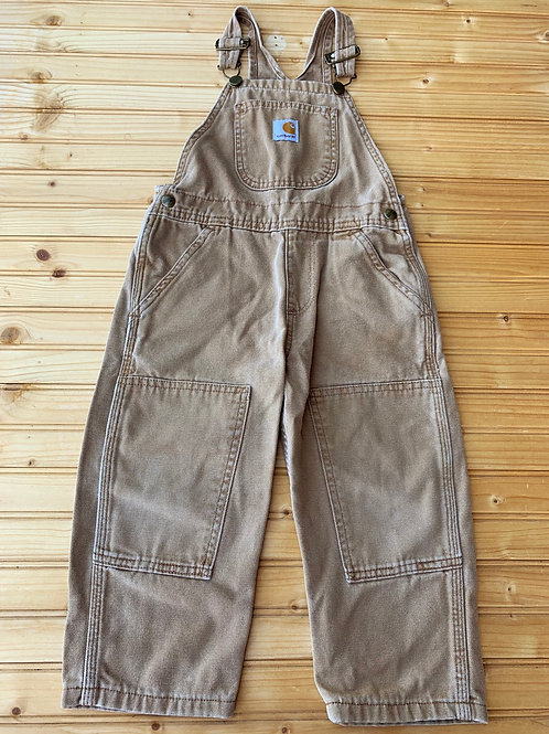 Size 4/5 CARHARTT Brown Overalls
