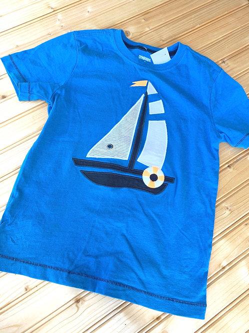 Size 5T Sailboat Shirt