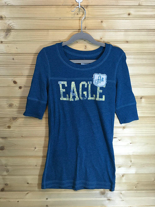 Size XS Young Adult AMERICAN EAGLE Blue Logo Short