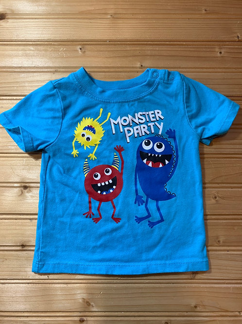 Size 6-9m Monster Party Shirt