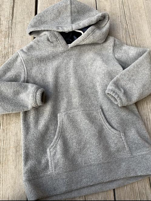 Size 4-5 ATHLETIC WORKS Grey Fleece Hoodie