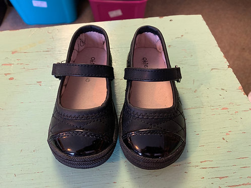 5m Toddler Black Mary Janes