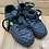 Size 10 Lil' Kids DIADORA Black and Green Soccer Cleats