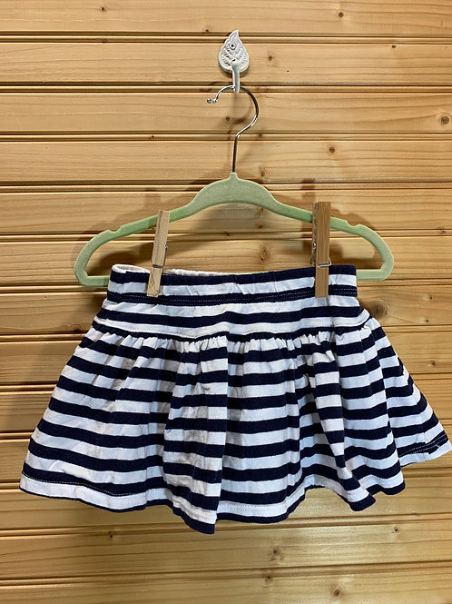 Size 24m CARTER'S Navy and White Skort, Used
