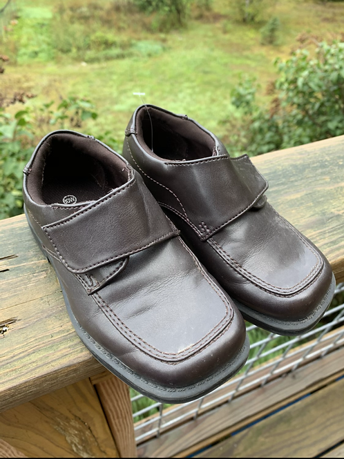 Size 10W Kids SMART FIT Brown Shoes