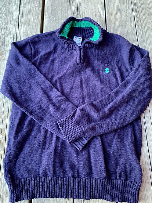 Size 10/12 IZOD Navy Knit Sweater