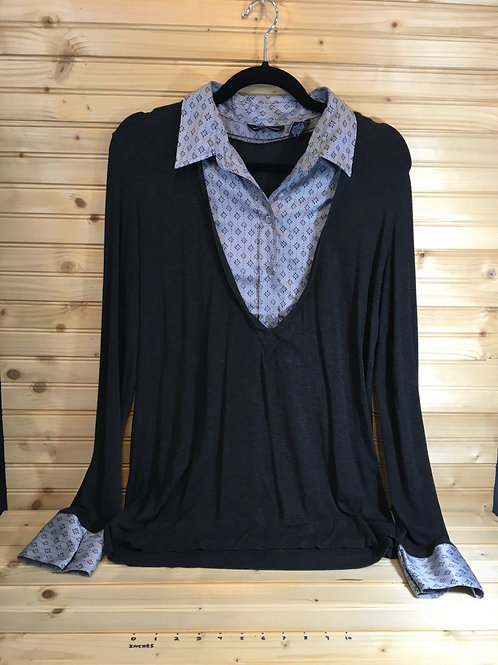Size L NEW YORK & CO Layered Maternity Top