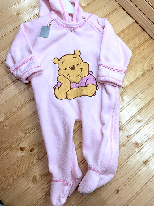 Size 6-9m DISNEY Pink Winnie the Pooh Bunting