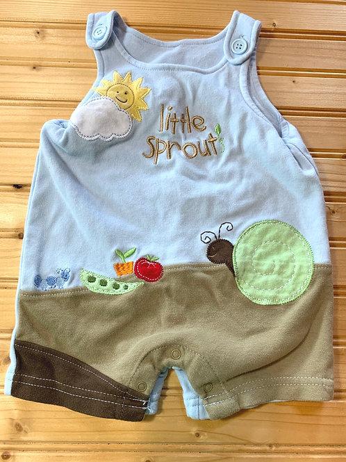 Size 0-3m Little Sprout Cotton Jumper