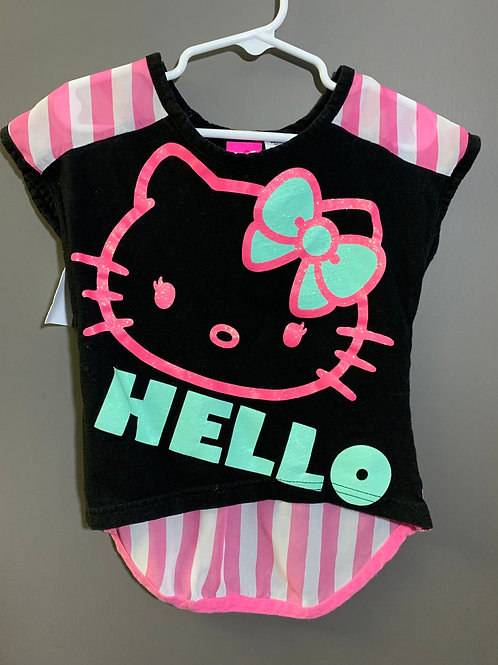 Size 4/5 Kids HELLO KITTY Shirt