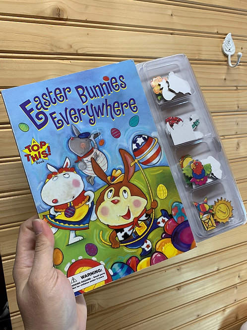 """Easter Bunnies Everywhere"", Used Book Kit"