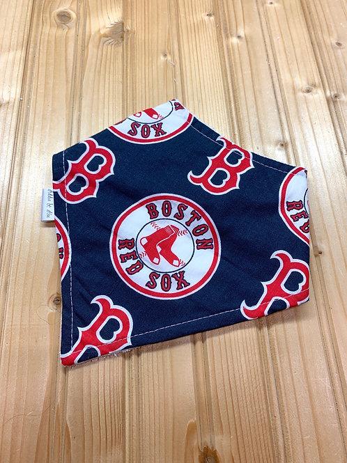 ADDIE & ABE Boston Red Sox Bandana Teething Bib