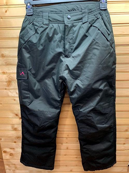 Size 10/12 VERTICAL9 Black Snowpants