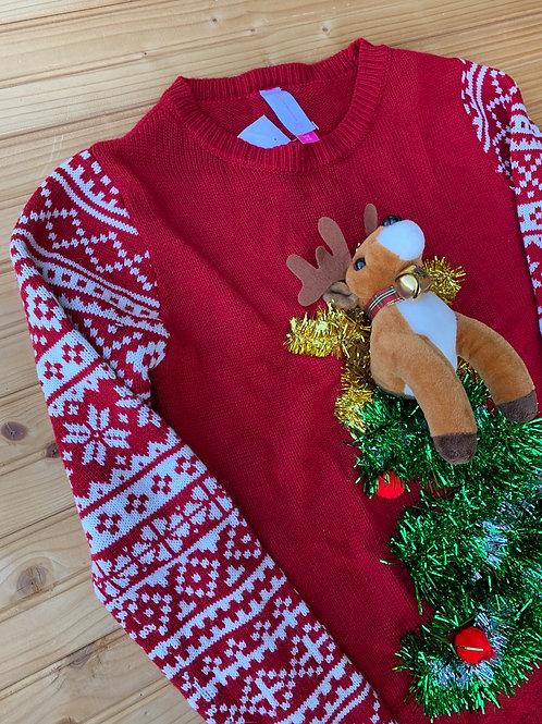 Size Junior 3-5 Christmas Sweater