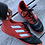 Size 3.5 ADIDAS Red Sneakers