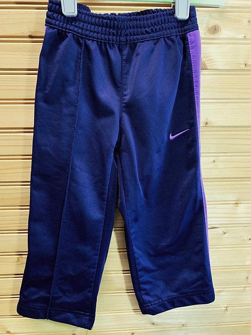 Size 2T NIKE Purple Sport Pant, Used