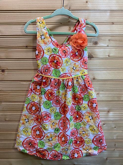 Size 3T PENELOPE MACK Citrus Dress, Used