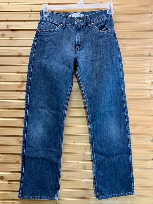 Size 16R 28x28 LEVIS 514 Straight Leg Jeans, Used