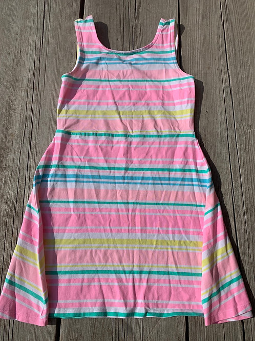 Size 7/8 Striped Summer Dress, Used