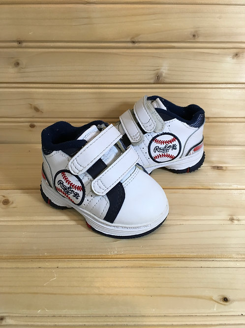 Size 3 Baby BASEBALL High Top Sneakers