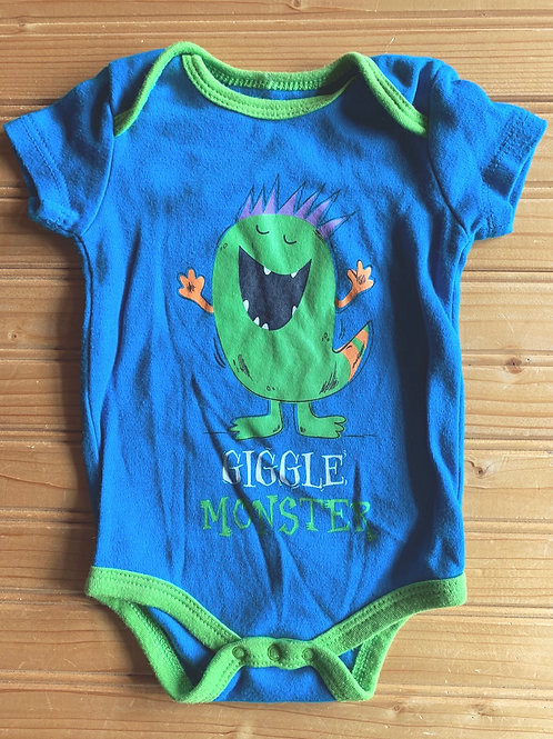 Size 0-3m Giggle Monster Onesie