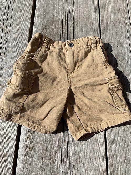 Size 24m Tan Cargo Shorts