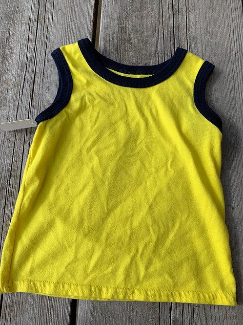 Size 24m Yellow Tank
