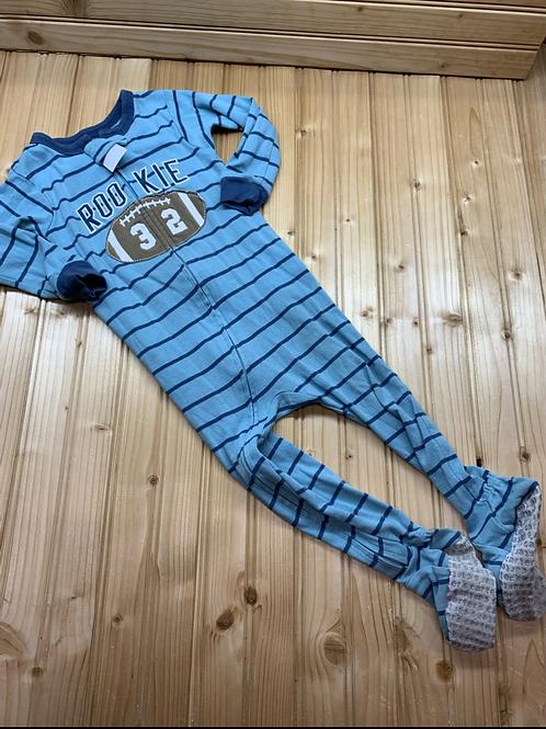 Size 18m CARTER'S Blue Rookie Cotton PJ