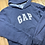 Size L (10/12?) GAP Blue Hoodie with Pink Logo