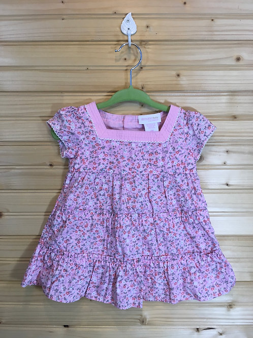 Size 3m GENUINE BABY Pink Peasant Dress Outfit