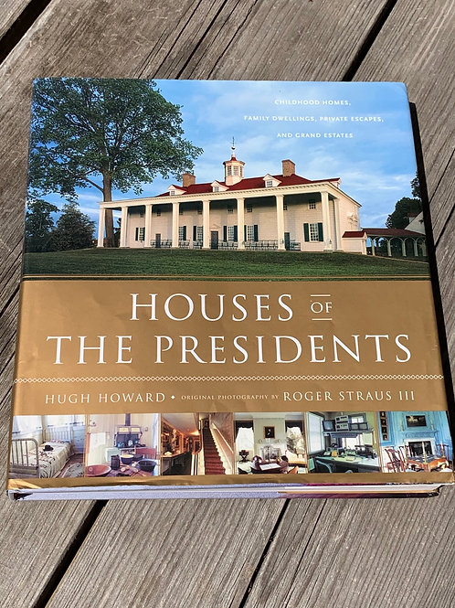 HOUSES OF THE PRESIDENTS book front