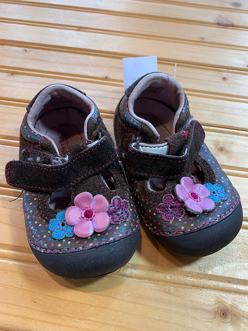 Size 5XW Little Kids STRIDE RITE Brown Mary Janes