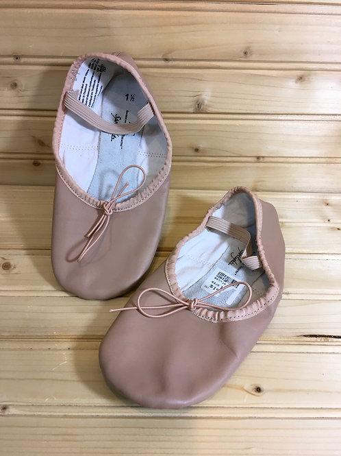 Size 1.5 Kids Ballet Dance Slippers
