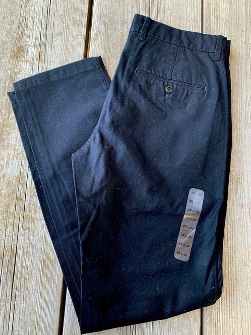Size 29x30 GAP Slim Black Pants