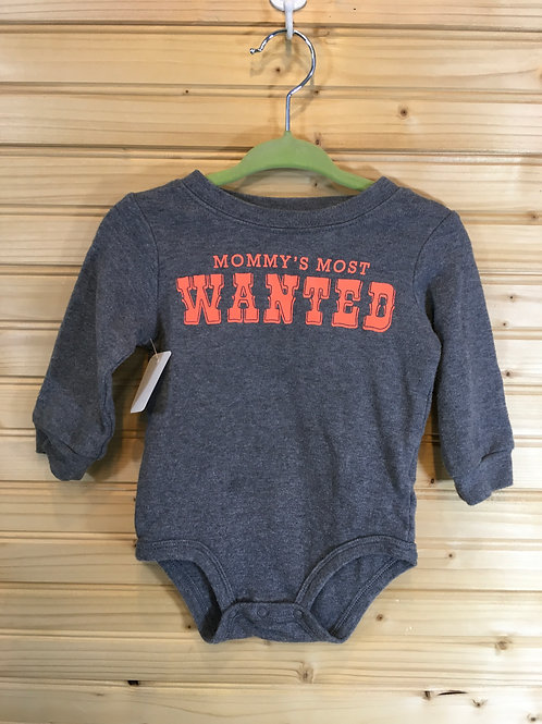 Size 9m CARTER'S Mommy's Most Wanted Onesie